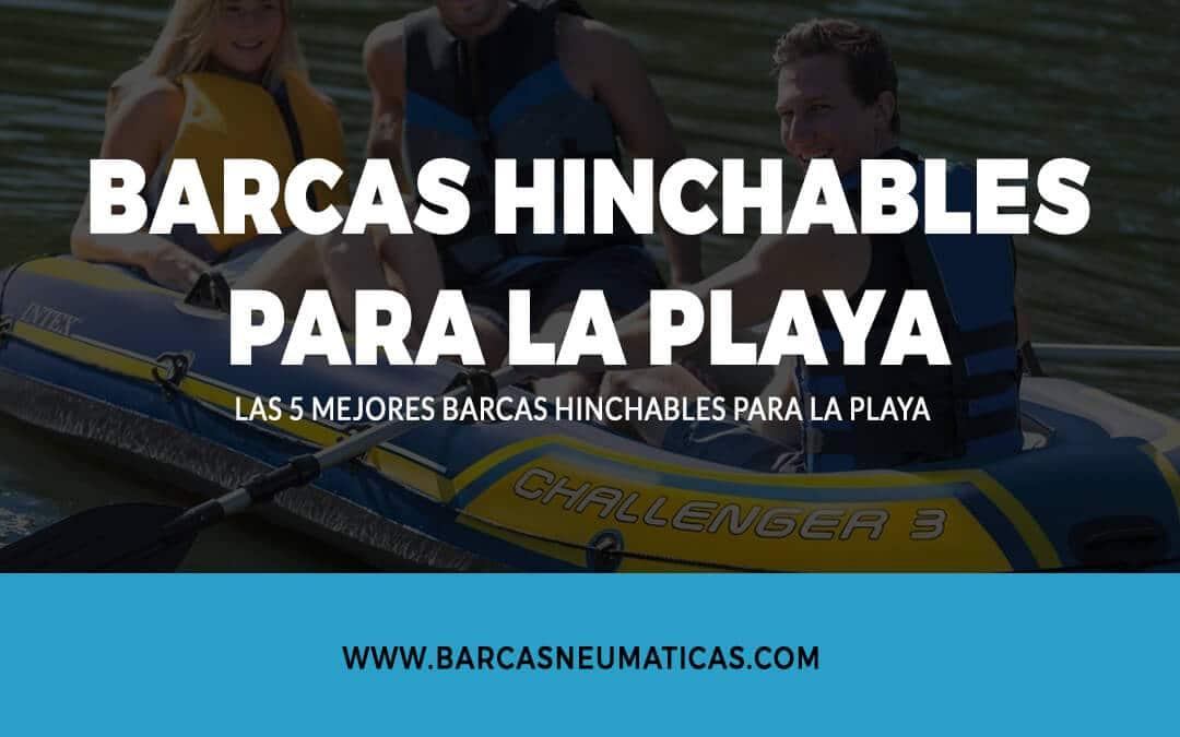 Barcas hinchables para la playa